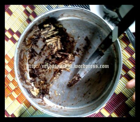kek batik biskut marie 3